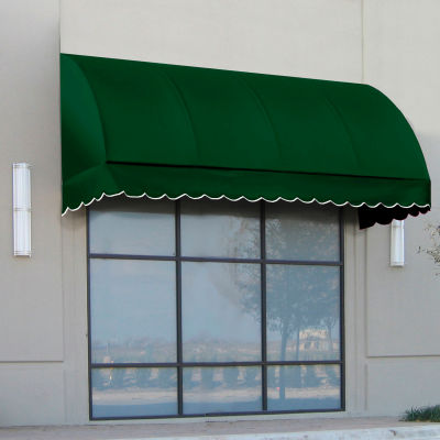 """Awntech RS22-6F, Window/Entry Awning 6' 4-1/2"""" W x 2'D x 2' 7""""H Forest Green"""