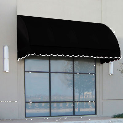 "Awntech RS22-6K, Window/Entry Awning 6' 4-1/2"" W x 2'D x 2' 7""H Black"