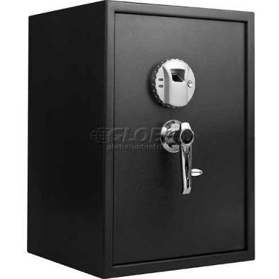 "Barska Large Biometric Safe Pistol Safe AX11650 - 14""W x 13""D x 19-3/4""H, Black"
