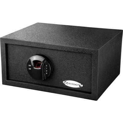 "Barska® Biometric Keypad Safe Color Box, - 0.46 Cubic Feet, 14-1/2""W x 11-3/4""W x 7""H - Black"