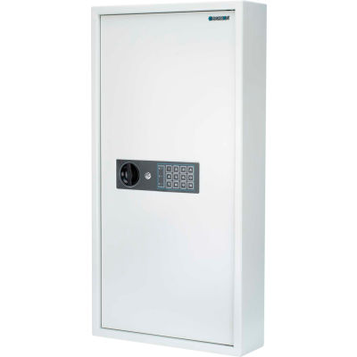 "Barska® 180 Keys Keypad Wall Key Safe, 15-7/10""W x 4-18/25""D x 30-5/7""H - White"