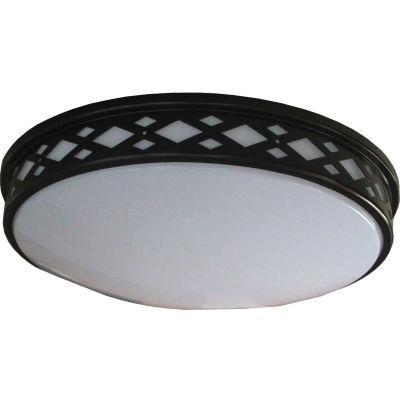 "Amax Lighting LED-JR001DB 10"" LED Diamond Ceiling Lattice, 14W, 4000 CCT, 1200 Lumen, 82 CRI, Bronze"