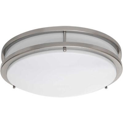 Amax Lighting LED-JR001NKL LED Ceiling Fixtures, 14W, 4000 CCT, 1200 Lumens, 82 CRI, Nickel