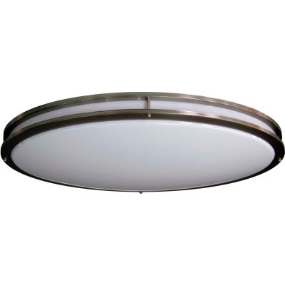 Amax Lighting LED-JR005NKL LED Ceiling Fixtures, 70W, 4000 CCT, 5800 Lumens, 82 CRI, Nickel
