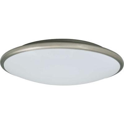 Amax Lighting LED-M001NKL LED Ceiling Fixtures, 14W, 4000 CCT, 1200 Lumens, 82 CRI, Nickel