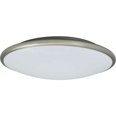 Amax Lighting LED-M002NKL LED Ceiling Fixtures, 20W, 4000 CCT, 1660 Lumens, 82 CRI, Nickel