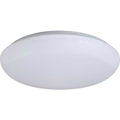 "Amax Lighting LED-R001  11"" Round LED Ceiling Fixtures, 14W, 4000 CCT, 1200 Lumens, 82 CRI, White"