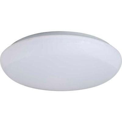 "Amax Lighting LED-R003  19"" Round LED Ceiling Fixture, 35W, 4000 CCT, 2900 Lumens, 82 CRI, White"