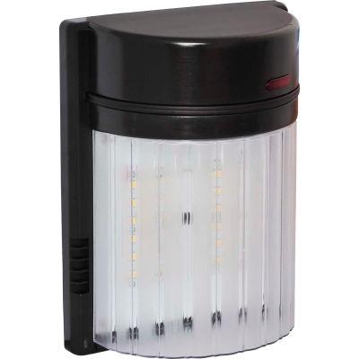 Amax Lighting LED-SL18BZ LED Security Light Wall Pack, 18W, 4000 CCT, 1500 Lumens, 82 CRI, Bronze
