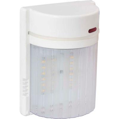 Amax Lighting LED-SL18WH LED Security Light Wall Pack, 18W, 4000 CCT, 1500 Lumens, 82 CRI, White