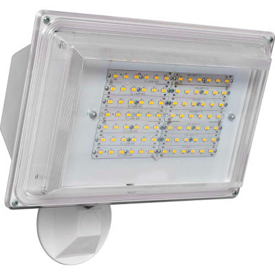 Amax Lighting LED-SL42WH LED Security Light Wall Pack, 42W, 4000 CCT, 3500 Lumens, 82 CRI, White