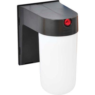 Amax Lighting LED-SLC12BZ LED Security Light Jar, 12W, 4000 CCT, 1000 Lumens, 82 CRI, Bronze