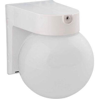 Amax Lighting LED-SLR12WH LED Security Light Globe, 12W, 4000 CCT, 1000 Lumens, 82 CRI, White