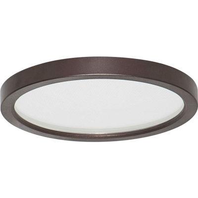 Amax Lighting LED-SM55DL/BZ LED Slim Disk, 9W, 3000 CCT, 580 Lumens, 80 CRI, Bronze