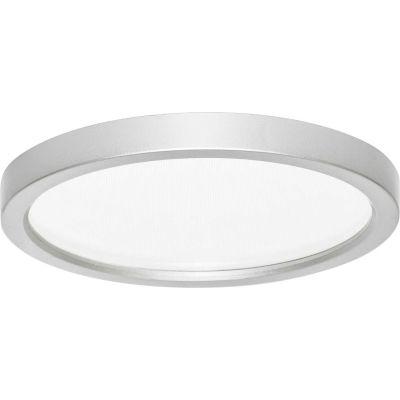 Amax Lighting LED-SM55DL/NKL LED Slim Disk, 9W, 3000 CCT, 580 Lumens, 80 CRI, Nickel