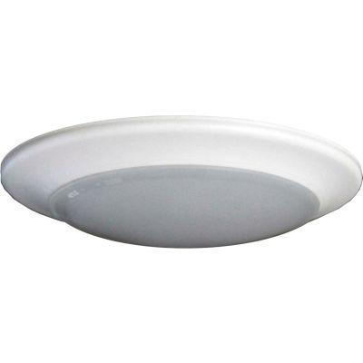 "Amax Lighting LED-SM9D/WHT 8"" Dimmable LED Can Disk Light, 30W, 3000 CCT, 2100 Lumens, 82 CRI, White"