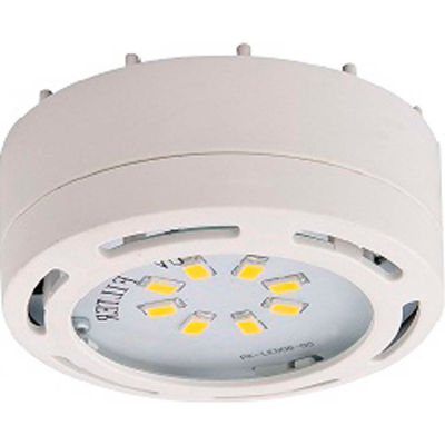 Amax Lighting LEDPL1-WHT LED Puck Light, 4W, 3000 CCT, 360 Lumens, 82 CRI, White
