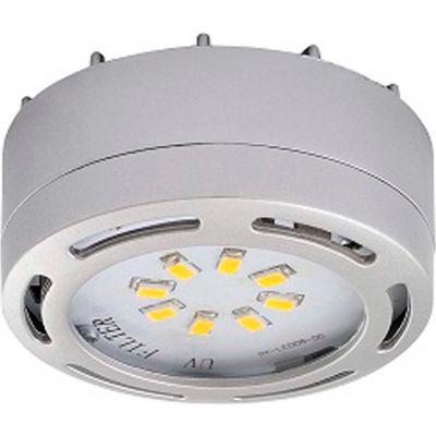 Amax Lighting LEDPL3-NKL LED Puck Light, 12W, 3000 CCT, 1080 Lumens, 82 CRI, Nickel, 3 light kit