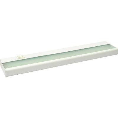 Amax Lighting LEDUC24WHT LED Undercabinet, 9W, 3000 CCT, 600 Lumens, 82 CRI, White