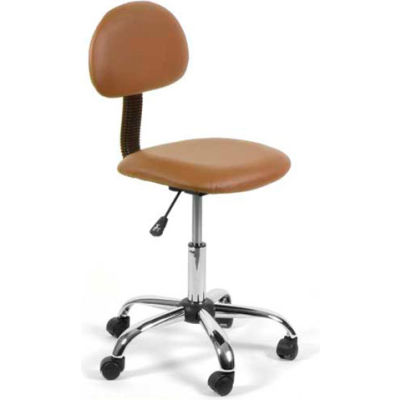 AYC Group Alice Technician Stool, Cappuccino