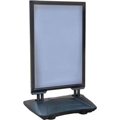 """Azar Displays 300249, Sidewalk Sign, 24""""W x 33""""D x 43""""H"""
