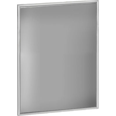"Azar Displays 300271-SLV, Snap Frame for Freestanding Unit, 22""W x 1""D x 28""H"