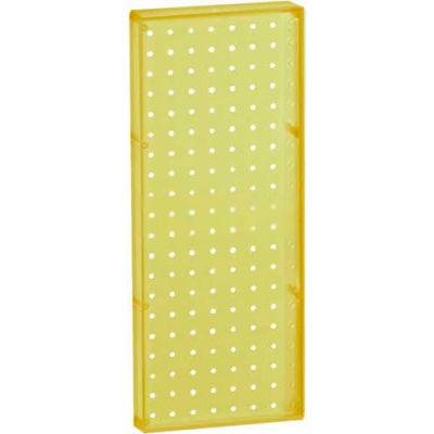 """Azar Displays 770820-YEL Pegboard Wall Panel, 8"""" x 20"""""""