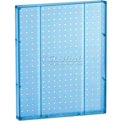 "Azar Displays 771620-BLU Pegboard Wall Panel, 16"" x 20"", Blue Opaque"