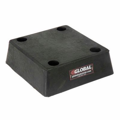"Global Industrial™ Molded Rubber Bumper - 11-3/8""W x 12-1/2""L x 3-1/2""H"