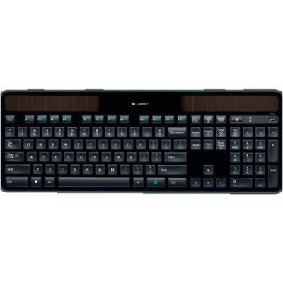 Logitech 920-002912 K750 Wireless Solar Keyboard, Black