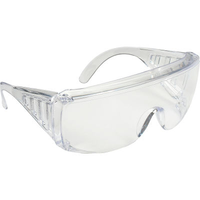 MCR Safety 9810 Yukon® Safety Glasses, Clear Coated Lens