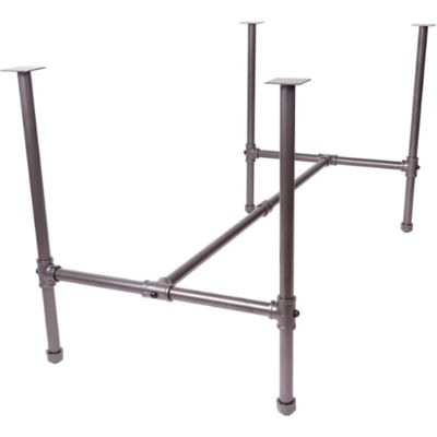 Econoco, Large Nesting Table (Frame Only), PSNTL, Anthracite Grey
