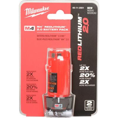 Milwaukee® 48-11-2001 4V Li-Ion M4 Battery 2Ah