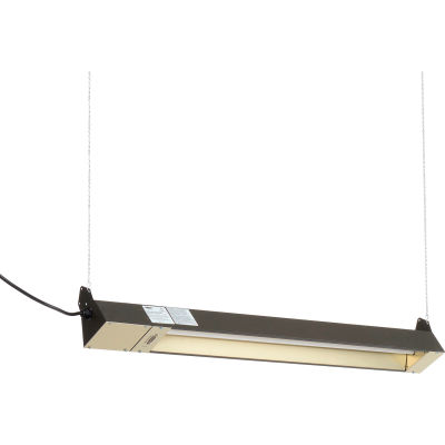 TPI Quartz Infrared Spot Heater OCH-46-120VCE 1500W 120V With Cord - Brown