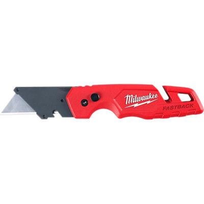 Milwaukee® 48-22-1502 FASTBACK™ Flip Utility Knife W/ Storage