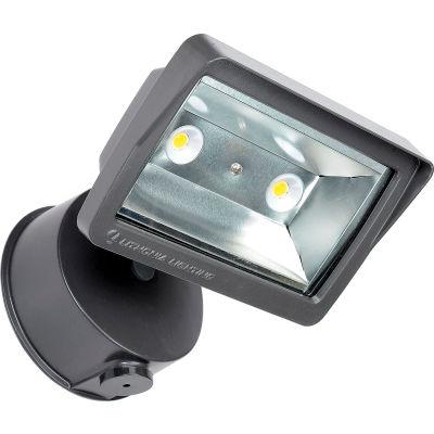 Lithonia OLFL 14 PE BZ NAHD M4 LED Security Flood Light, 25W, 120V, 1900 Lumens, 4000K