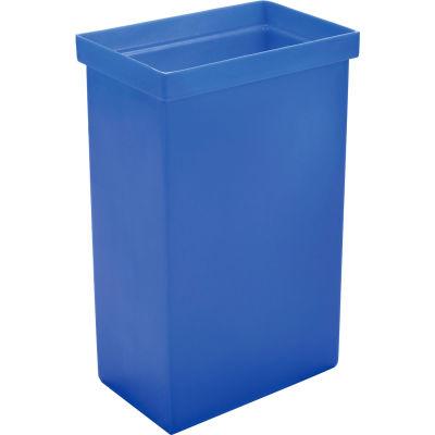"Winholt® 148BIN-BL, Ingredient Bin, Polyethylene, 14-5/8""L x 9-1/4""W x 23-1/4""H, Blue"
