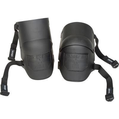 Sellstrom Knee Pro Ultra Flex III Knee Pad, Black Shell, Black Strip, One Size