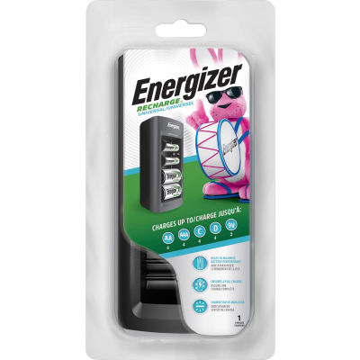 Energizer CHFC Universal Family Battery Charger For Multiple Battery Sizes
