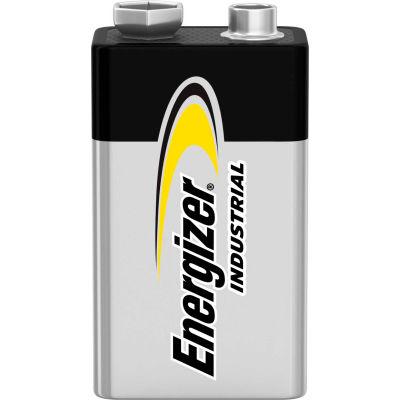 Energizer Industrial EN22 9V Alkaline Batteries - Pkg Qty 12