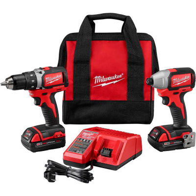 Milwaukee 2892-22CT M18™ Compact Brushless Drill & Impact Driver Combo Kit