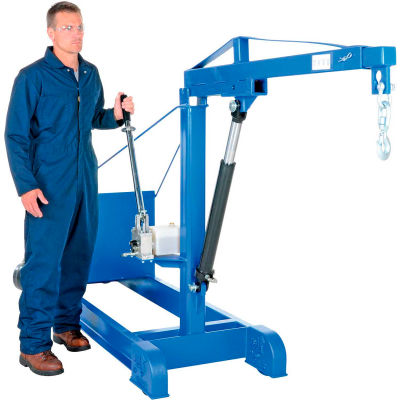 Counter Balanced Floor Crane CBFC-2000 2000 Lb. Capacity