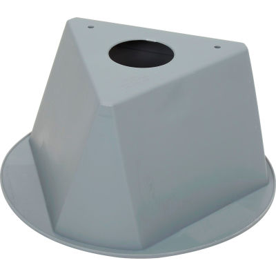Inventory Control Cone, 3 Sided - Gray