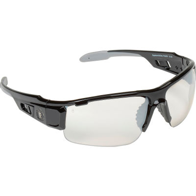 Ergodyne® Skullerz® Dagr Safety Glasses, Indoor/Outdoor Lens, Black Frame