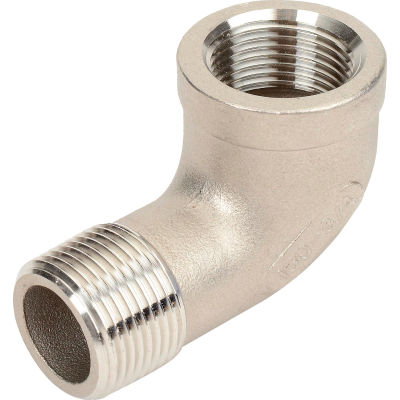 3/4 In. 304 Stainless Steel 90 Degree Street Elbow - MNPT X FNPT - Class 150 - 300 PSI - Import