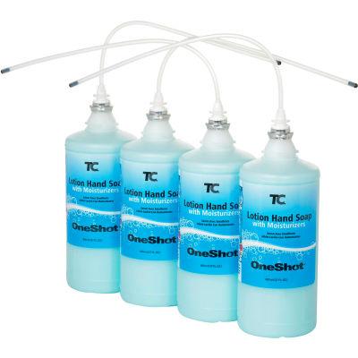 Oneshot® Liquid Hand Soap 800ml Lotion Soap With Moisturizer Refill - FG4013111 - Pkg Qty 4