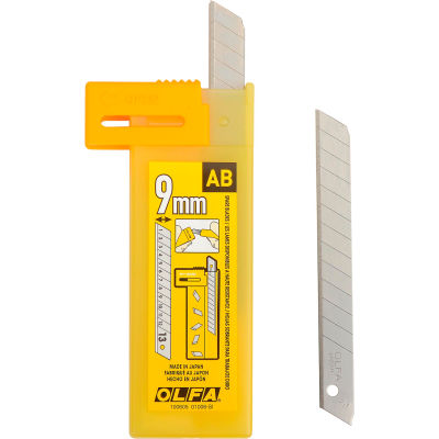 OLFA® AB-10B 9MM Precision Snap-Off Blades (10 Pack)