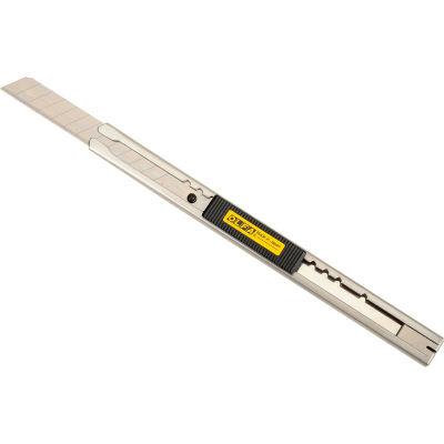 OLFA® SVR-2 Stainless Steel Auto-Lock Utility Knife w/ Blade Snapper