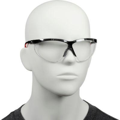 Uvex® S3300HS Genesis XC Safety Glasses, Black Frame, Clear HS Lens