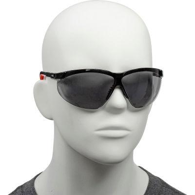 Uvex® S3301HS Genesis XC Safety Glasses, Black Frame, Gray HS Lens